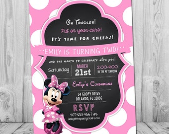 Kids Printable Birthday Party Invitations by PartyPrintouts