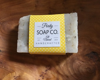 lemon-lavender soap handmade soap, coconut oil soap, lye soap, clean,  toxin free, all natural, soap,  all natural soap, homemade soap