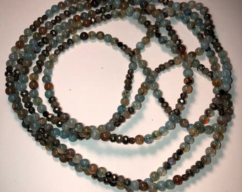 Super Long Indian Agate Necklace