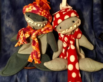 Shark Puppet, made to order by Son of Jen Puppets, OOAK