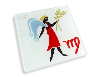 Set of 4 Virgo Coasters
