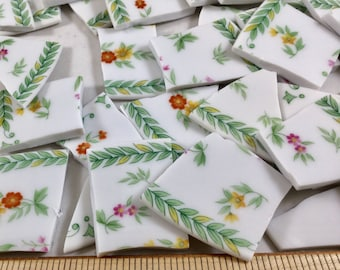 75+ Mikasa Couture Collection Floral China Mosaic Tiles With 4 Focals