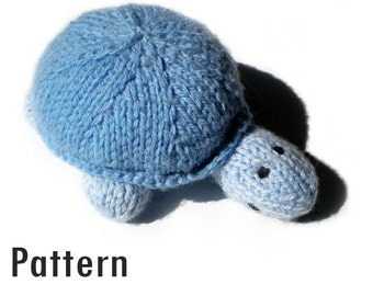 PDF Pattern - Sven the Turtle - Knitting and Crochet