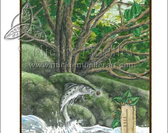 The Hazel Card Giclee Print
