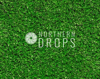 Product Photography Backdrop - GREEN GRASS backdrop - Green grass photo backdrop - Green grass printed background or floor - 3 sizes