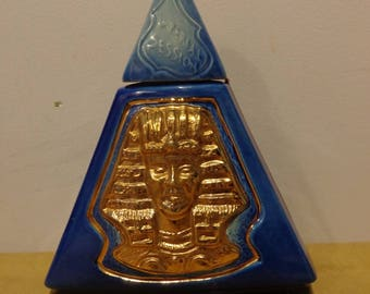 Vintage Jim Beam Bourbon Whiskey Decanter INDIANA  Indianapolis 1970 Imperial Session