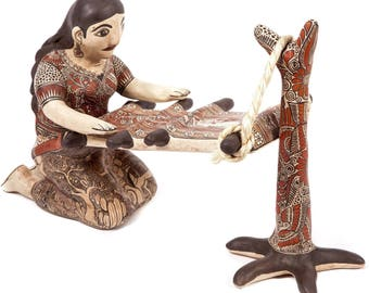 Tejedora Nahuatl