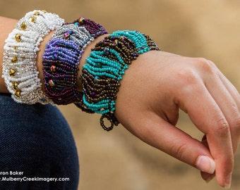 Hand Beaded Bracelet -- Ancha Tuner