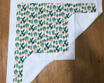 Cactuses Receiving Blanket