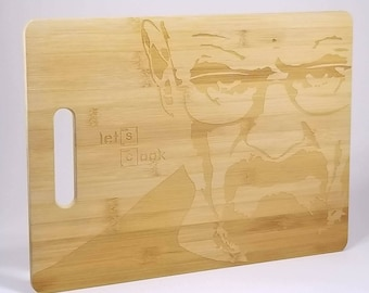 Breaking bad inspired Let's Cook cutting board