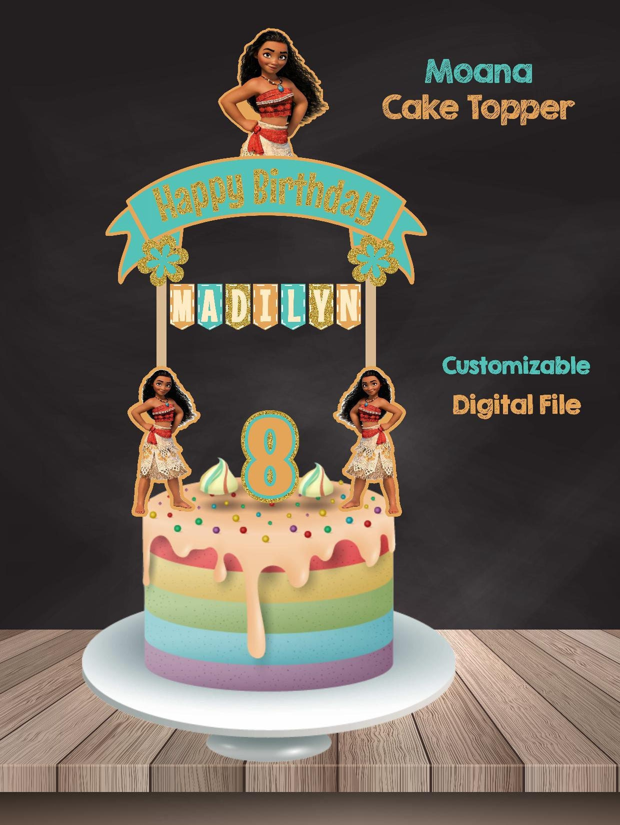 Ninja Turtle Cake Topper Australia
