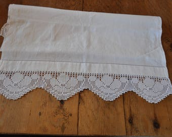 Vintage Table Runner Cover Tablecloth