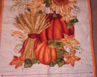 FALL HARVEST Hand Quilted Wall Hanging