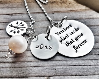 Gift For Your Teacher, To Teach is to Plant a Seed Quote,  Retirement Gift, Mentor Sabbatical Gifts, Teacher Retirement , Professor