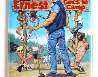 Ernest Goes to Camp Movie Poster Fridge Magnet
