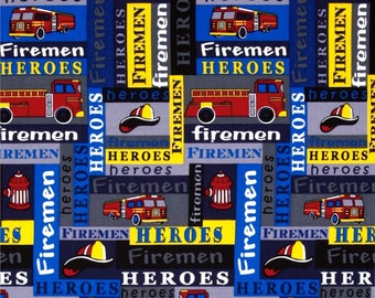 "David Textiles ""Fireman""  - Premium Cotton"