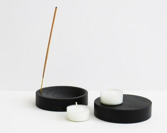 Incense holder BLACK ply wood