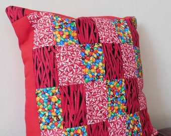Handmade Patchwork Cushion