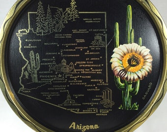 Arizona Souvenir Tray