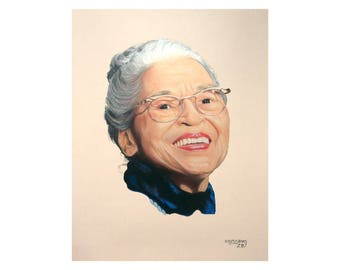 Portrait Painting of Rosa Parks