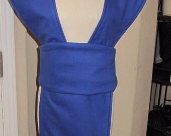 Cosplay Royal Blue Sub-Zero  Mortal Kombat tabard and sash in several sizes