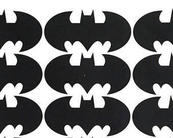 Batman stickers, seals, DC comic hero Wall Stickers, kids party decor vinyl
