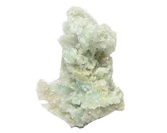 Druse de cristal boracite Rare immobilier beau spécimen de minéral, de Mines anglais, Rare, difficile à trouver, brillant, prix du collecteur