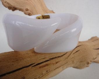 Vintage White Bypass Bracelet