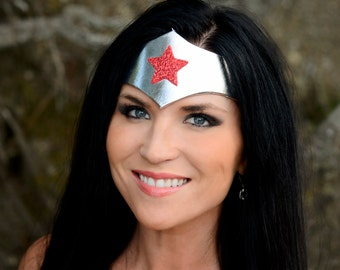 Wonder New 52 Woman Superhero TIARA Fits Adults and Children