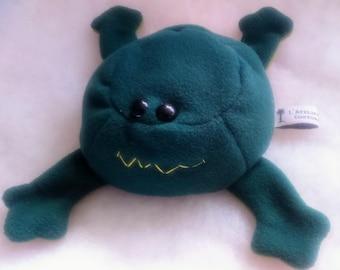 Plush Green Frog