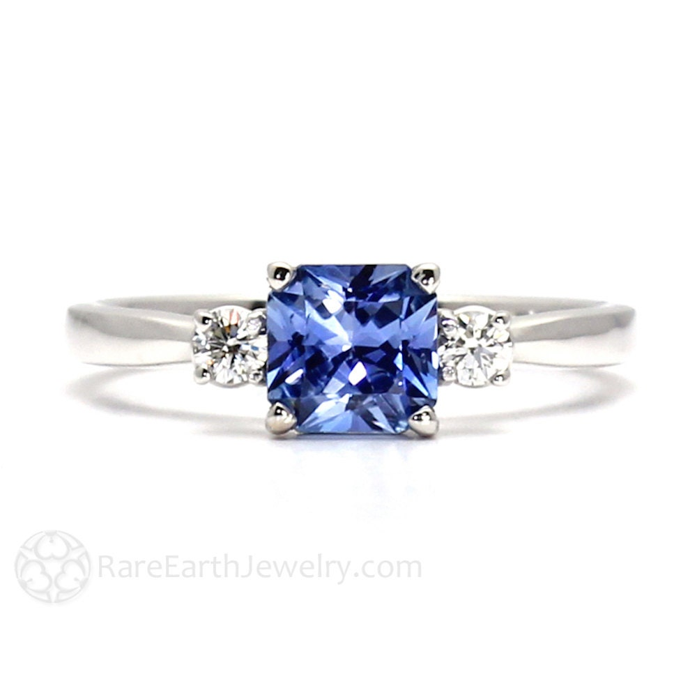 allurez rings ring band white jewelry eternity gold diamond sapphire blue