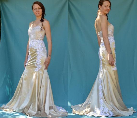 Schnittmuster: Trompete Stil Kleid mit herzförmiger Ausschnitt