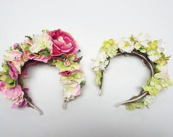 Party Floral Head Piece