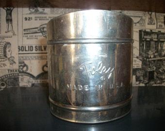 Vintage Foley Flour Sifter