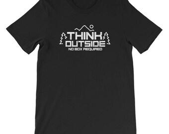 Mens Think outside T-shirt