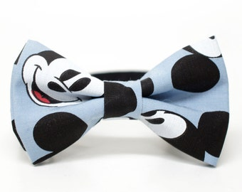 Mickey bow tie- character pre-tied bowtie for all ages