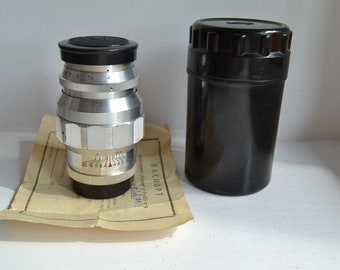JUPITER-11 135mm f4 M39 LTM Leica Screw Sonnar copy S/N 6327108, complete set!