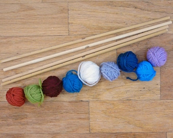 Kit for Making Your Own 8-sided, 16-inch Mandala