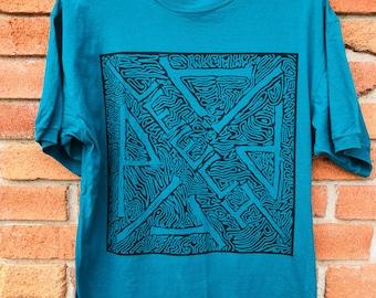 Classic 80s Skate Style Leechpit Streetwear T-shirt