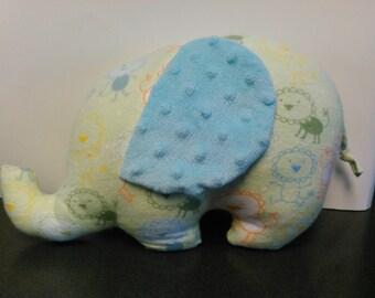 Lio-phant the Stuffed Elephant