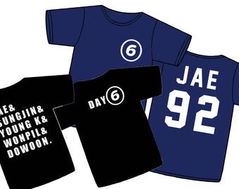 DAY6 T-SHIRT (Up to 4XL!)