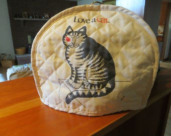 Kliban Love a Cat Toaster Cover / Tea Cozy