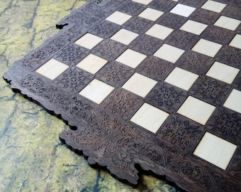 Medieval chess board game , medieval game, reenactment