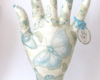 CLASSIC Antiqued Butterfly HAND-Stand ~ Jewelry Display ~ Ready to Ship