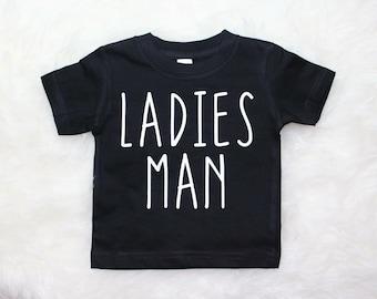 Ladies Man Shirt, boys shirt, toddler shirt, baby boy shirt, baby boy clothes, future ladies man, baby boy