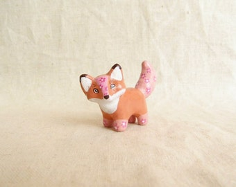 Fox figurine. One of a kind.