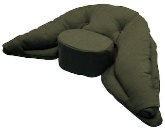 Green Vipassana Meditation Cushion  - Regular Size