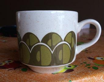Vintage Arklow Geometric Design Tea Cup,Irish, Brendan Erin Stone