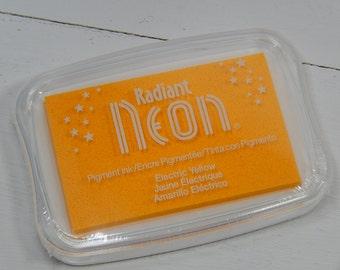 Electric Yellow Radiant Neon Ink Pad - Tsukineko