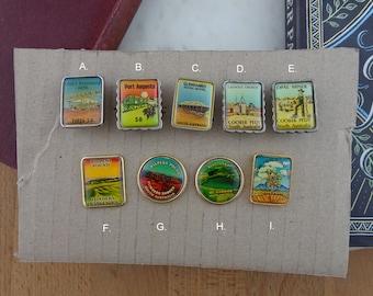 Vintage Australian Travel Souvenir Hat, Tourist Lapel Pins,  Brooches,  Badges, South Australia